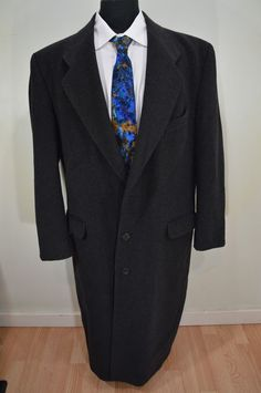 CARLO MANDRONE mens black wool sport coat blazer jacket 46XL 46 ...