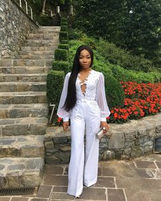 Stephanie Coker and Mo Cheddah extremely gorgeous in white (Photos) | Nigerian: Breaking News In Nigeria | Laila's Blog