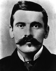 11/8/1887 - Gunfighter JOHN 'DOC' HOLLIDAY - Doc Holliday died at the age of 35. The gun fighting dentist died from tuberculosis in a sanitarium in Glenwood Springs, CO.