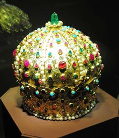 Imperial Crown - Austrian Imperial Treasury - Vienna