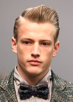 Men's Classic Gelled Hairstyles - 50's look.