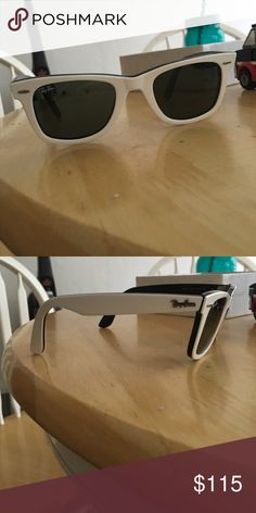 Raybans No scratches or scuffs. Only worn a few times Ray-Ban Accessories Sunglasses