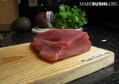 How to make tuna sashimi - Learn how to create stunning sushi dishes with the guidance of self-taught sushi chef, Davy Devaux.