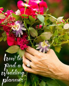 How to Find a Wedding Planner
