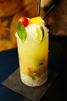 Take the Gin Mare Cocktail tour and try the Mediterranean Mojito at Voltaire
