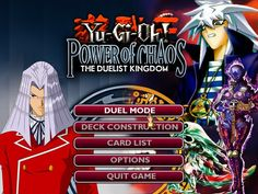 Wajib buat para duelist :D - Free Download Game Yu-Gi-Oh! Power of Chaos - The Duelist Kingdom