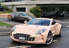 Aston Martin One-77 Milano Series Pink (2011)