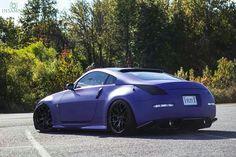 Nissan 350z, igual que mi coche, el mio es gris Daytona.