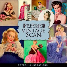 New Freebies Retro Illustrations Kit.:Far Far Hill - Free database of digital illustrations and papers Bird Illustration, Floral Illustrations, Digital Illustration, Vintage Maps, Vintage Posters, Free Digital Scrapbooking, Digital Papers, Retro Pin Up, Female Images