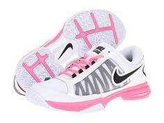 Comfort Is Everything : Tennis Shoes:White Pink Tennis Shoes By Nike  Popular Women's Tennis Shoes