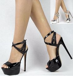 Damenschuhe 36-41 NEU Luxus Riemchen Pumps Damen Schuhe Party High Heels Plateau