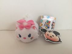 disney japan cat series aristocats marie tsum mini plush new with tags