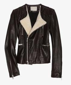 Iro Shearling Leather Jacket