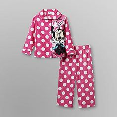 Disney Baby- -Minnie Mouse Toddler Girl's Knit Pajamas - Sweet Dreams
