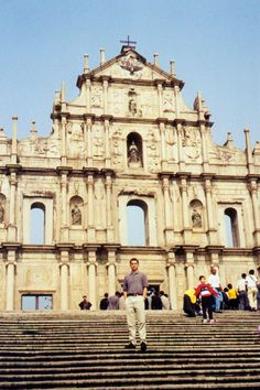 The church of Sao Paulo with its ornatley-carved facade, rich with Catholic statuary is the most famous landmark in (Special Administrative Region of China) MACAO.    (Photo - LukeTravels.com - Luke Handzlik)
