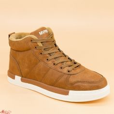 Ghete Barbati 7298 Light Brown Mvpboy High Tops, High Top Sneakers, Brown, Shoes, Fashion, Moda, Zapatos, Shoes Outlet, La Mode