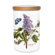 Portmeirion Botanic Garden Airtight Canister, Medium