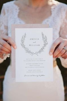 RV offers the printable Elegant Wreath wedding invitation. This invitation captures an elegant, minimalist feel. A hand-drawn wreath and simple, timeless fonts.. does it get any better than that? INCLUDES: • High-res 300ppi digital design with your text inserted by RV • Invitation