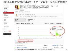 Google認定SEO?YouTubeパートナープロモーション開始 http://yokotashurin.com/youtube/partner-promotion.html