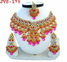 Gold Diamond Bridal Jewellry Set