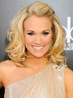 Carrie Underwood bangs
