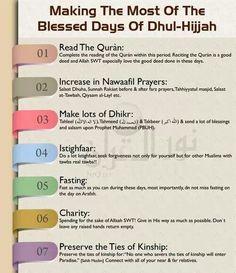 Dzul hijjah days