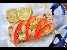 Baked Ginger Lime Salmon - Want the Ingredients and Directions too? Just click below. PLUS, if you like this healthy recipe, we have a lot more that all come with a video, have 7 ingredients or less, and no added sugar. They are perfect for any CrossFitter looking to hit their macros or make meal plans.