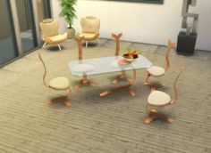 TS2 to TS4 Milano Royale Dining Set by LOolyharb1 at Mod The Sims • Sims 4 Updates