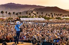 Jon Pardi performs at Stagecoach Festival at the Empire Polo Club in Indio, California on April (Photo: Erik Voake) Stagecoach Festival, Jon Pardi, My Magazine, Cowboys And Indians, Cultural Events, Polo Club, Getting Out, Places Ive Been, Westerns