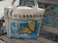 Coffee Tote by ShaggyBaggy on Etsy, $65.00