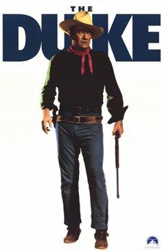THE MAN WHO SHOT LIBERTY VALANCE (1964) - John Wayne