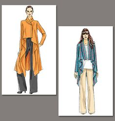 Vogue Patterns 8780 from Vogue Patterns patterns is a Misses Jacket and Pants sewing pattern