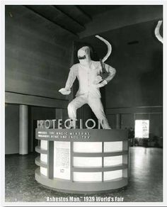 Asbestos Man, 1939 World's Fair