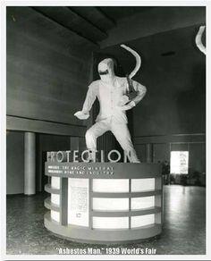 Asbestos Man, 1939 World's Fair