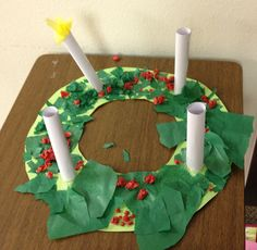 The Advent Wreath ou