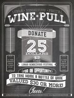 Wine Pull Poster