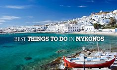 Looking for best things to do in Mykonos? Plan your trip to visit Mykonos, one among famous Greek Islands with 8things here