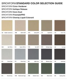 Parex Color Chart Painting The House Stucco Colors