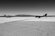 Planes on the Horizon black and white multiple by WinchesterRed, $18.00