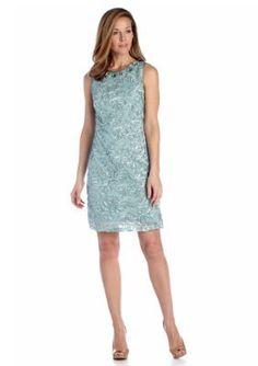 Jessica Howard  Bead Embellished Sheath Dress