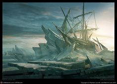 Wreck Of Esperance by Raphael Lacoste | 3D | CGSociety