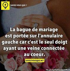 La bague de mariage ♥