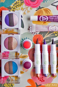 Who says you can only have one signature color?   Mary Kay