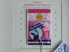 Weiteres - Geldgeschenk zur Hochzeit, Kribbeln, indiv. - ein Designerstück von Kartentraeume-ORS bei DaWanda