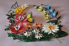 Floral composition on Behance