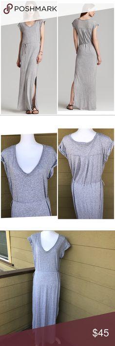 Splendid Gray Maxi Dress Size M Splendid Gray Maxi Dress Size M. It has a side slit. Super comfortable. Perfect for summer. Feel free to ask any questions :) Splendid Dresses Maxi