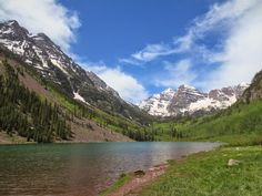 Maroon Bells, The most photographed mountains in America, Colorado, USA Road Trip Usa, Great Lakes, Luxury Travel, Cool Photos, Around The Worlds, Colorado Usa, Canada, America, Mountains