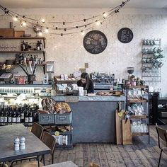 Pretty interiors of @finkssaltandsweet . Photo by @millykr #cafe #coffeeshop