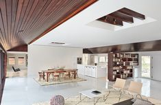 A Contemporary Redesign For A 1960s House In New York