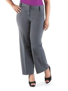 Plus Size Boot Cut Pants